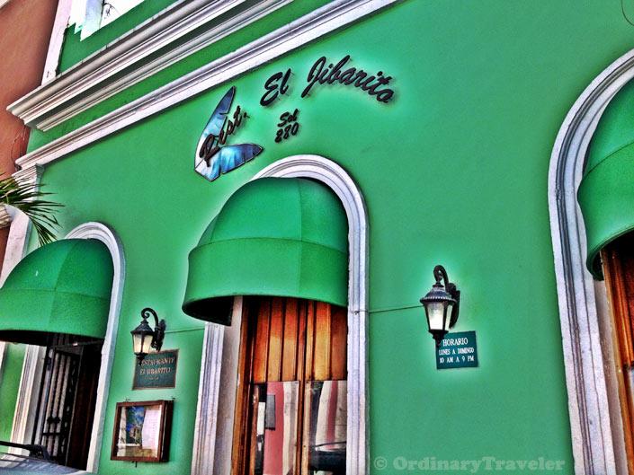 El Jibarito Restaurant - Old San Juan, Puerto Rico