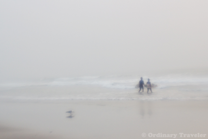 Lensbaby Plastic Optic - Foggy Surf Session