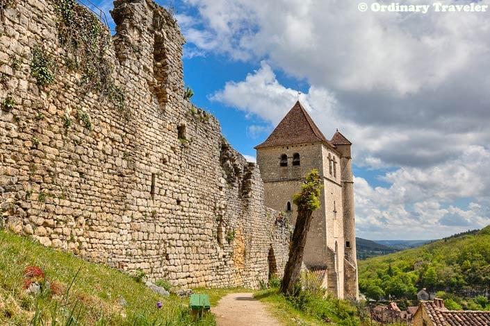 Saint Cirq Lapopie France Church