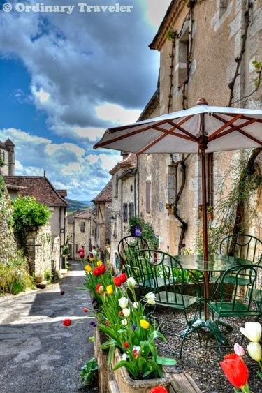 Saint Cirq Lapopie France Village