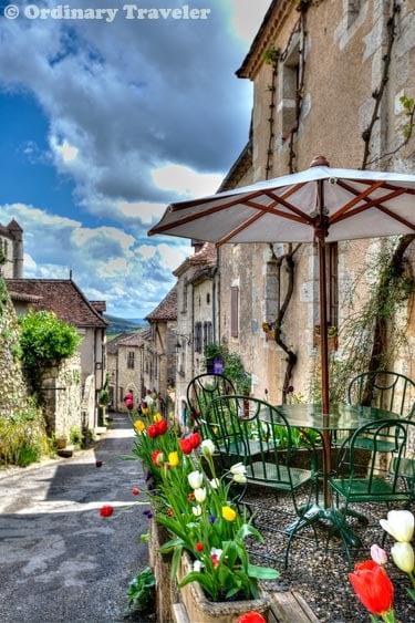 Saint Cirq Lapopie France Village