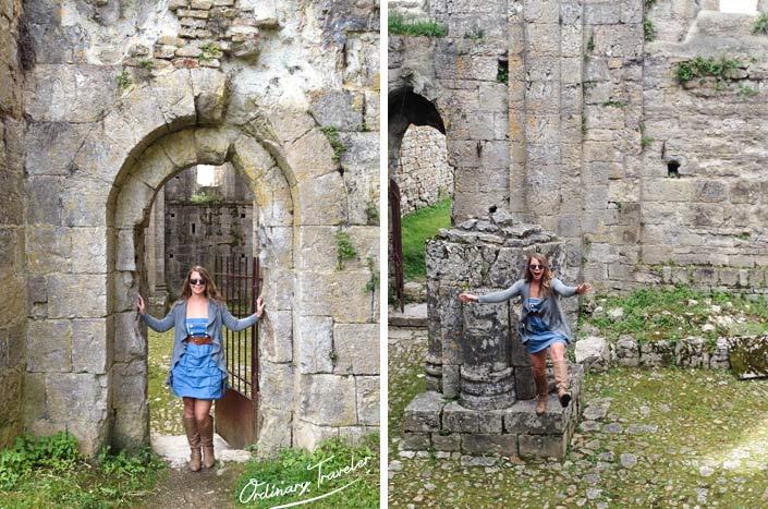 Marcilhac sur Cele, France Church Ruins