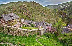Conques, France Medieval Village
