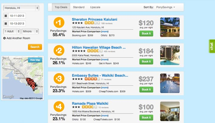 TravelPony.com: Just Another Hotel Booking Site?