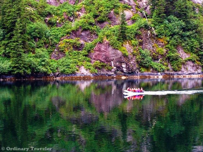 skiff tour alaska