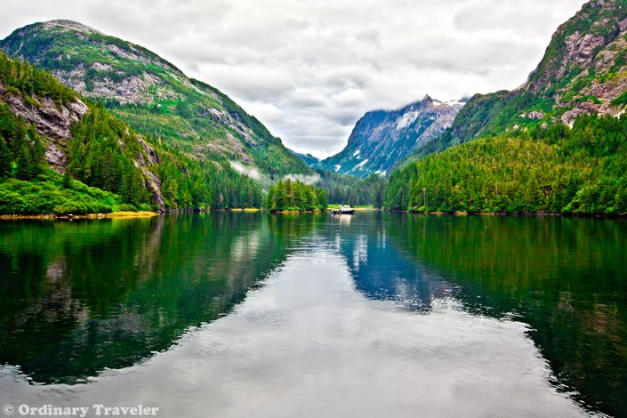 getting paid to travel in Patterson Bay, Alaska