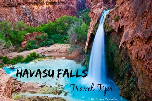 Havasu Falls Travel Tips
