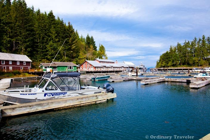 Telegraph Cove Harbor North Vancouver Island