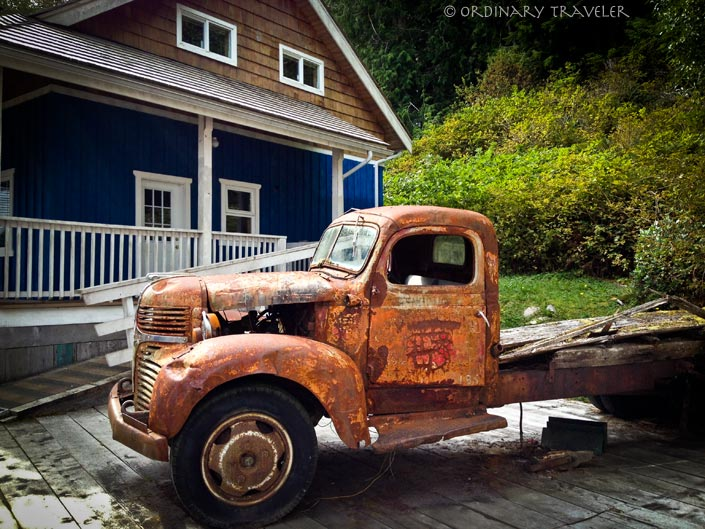 Telegraph Cove Antique Truck