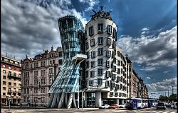 Dancing House - Prague by Pedro Szekely