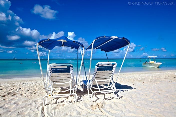 aruba marriott beach