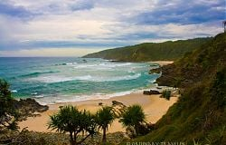 Secluded Kings Beach - Broken Head, Australia