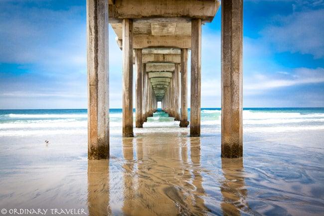 Scripps Pier La Jolla San Diego Photograph