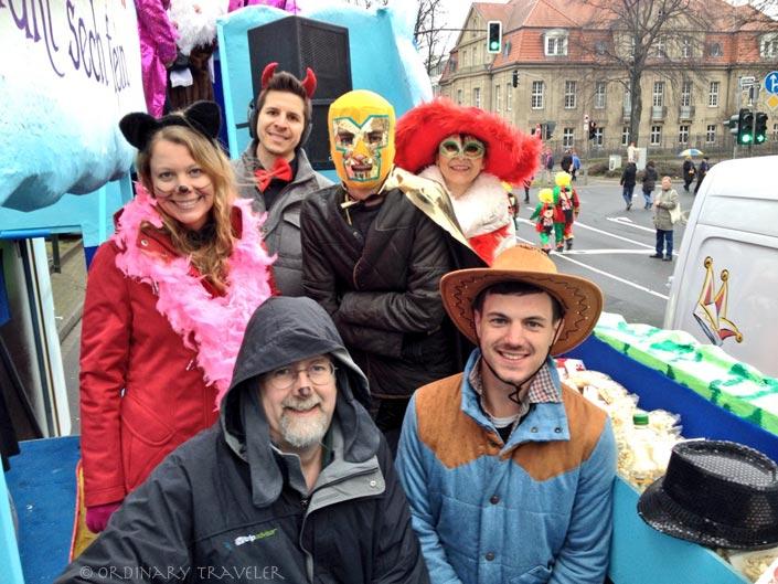 Feeling the Love at Dusseldorf's Karneval
