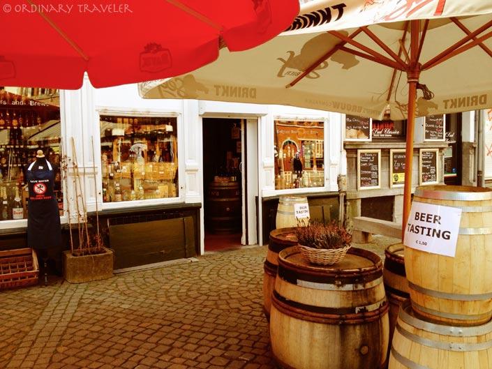 Beer Tasting in Grote Markt - Antwerp