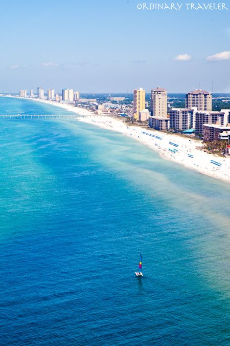 Aerial View of Panama City Beach, Florida