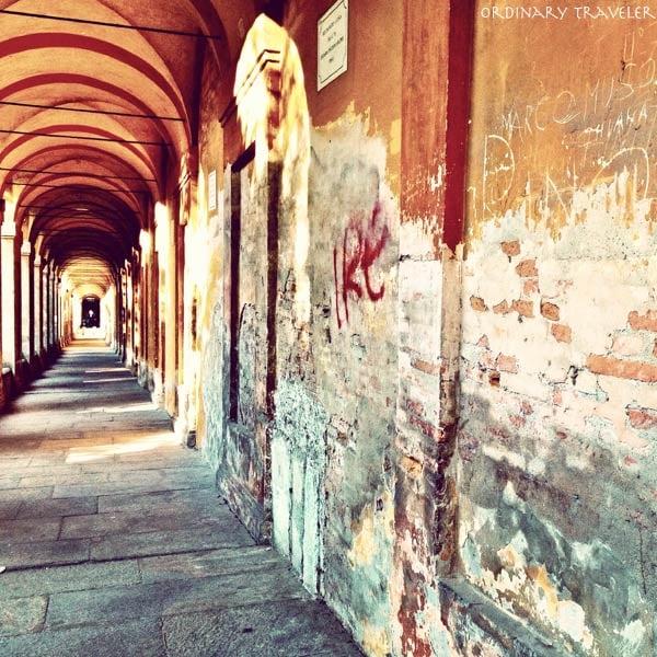 Porticoes in Bologna