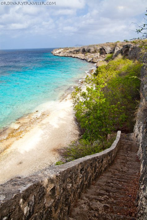 Thousand Steps Dive Site Bonaire Caribbean