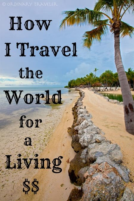get paid to travel the world