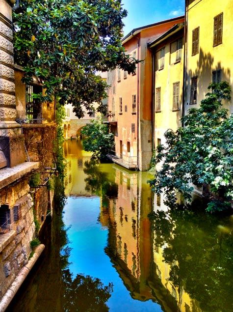 Mantua Italy canals