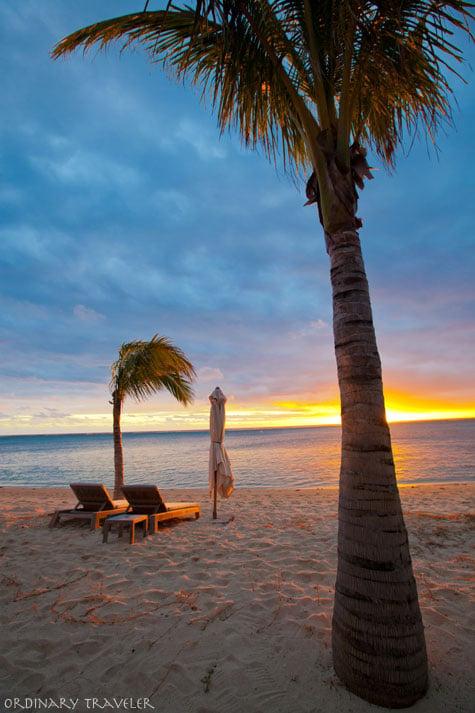 St. Regis Mauritius Sunset