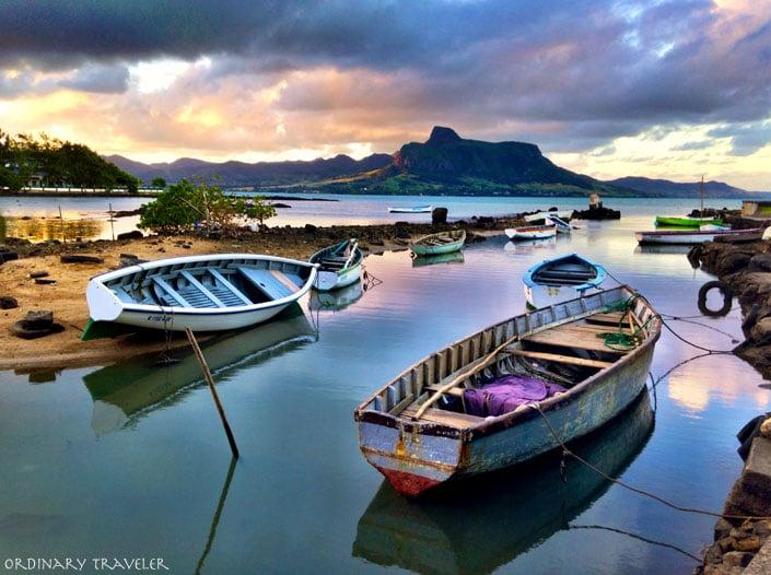 Mahebourg Mauritius Sunset
