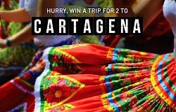 Win a Trip for Two to Cartagena!
