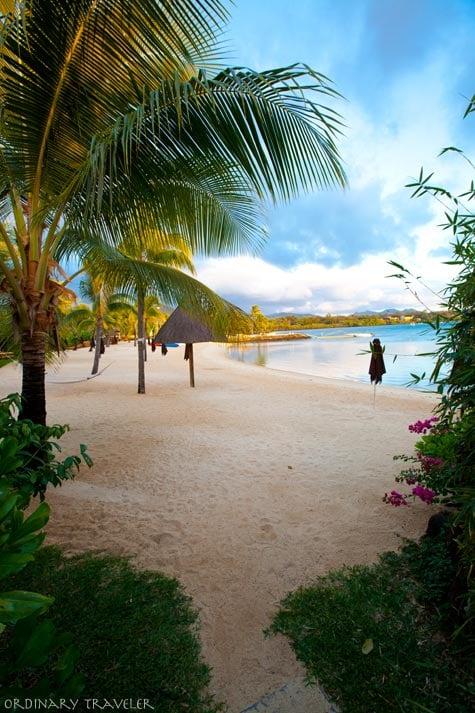 The Four Seasons Mauritius Bambou Beach at Sunrise