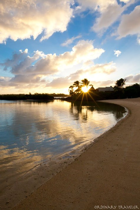 The Four Seasons Mauritius Sunrise on the Beach