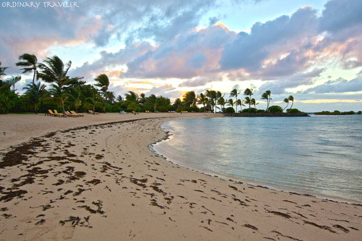 The Four Seasons Mauritius Quiet Beach Sunrise