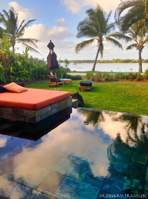 Four Seasons Mauritius Villa Plunge Pool