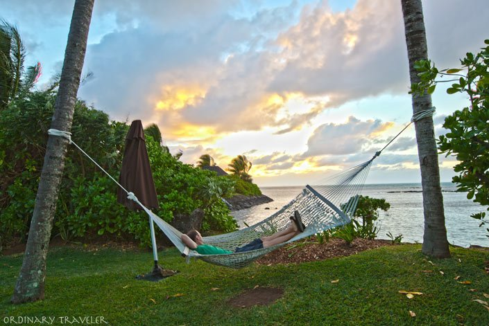 The Four Seasons Mauritius Beach Hammock