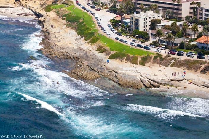 La Jolla Cove Aerial View