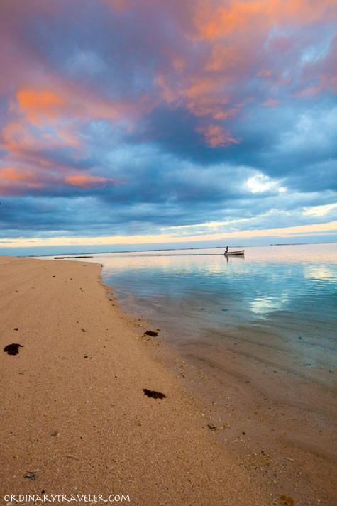 Fisherman Le Morne Peninsula at St. Regis Mauritius