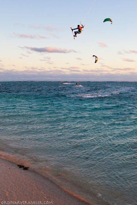 Kitesurfing Le Morne Mauritius