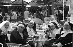 Drunk Nuns in Prague Cheers