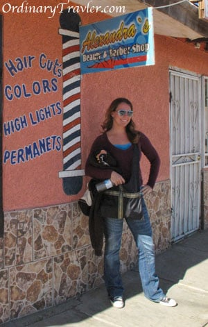 Hair Salon in Algodones, Mexico