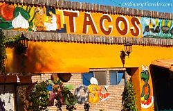 Restaurant in Algodones, Mexico