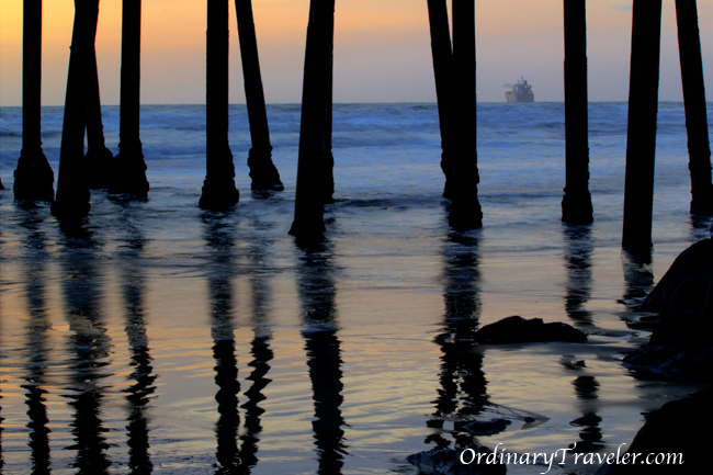 Oceanside Pier at Sunset San Diego