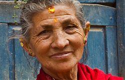 Nepali Woman - Bhaktapur Nepal