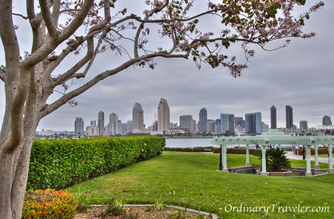 View of downtown San Diego from Coronado