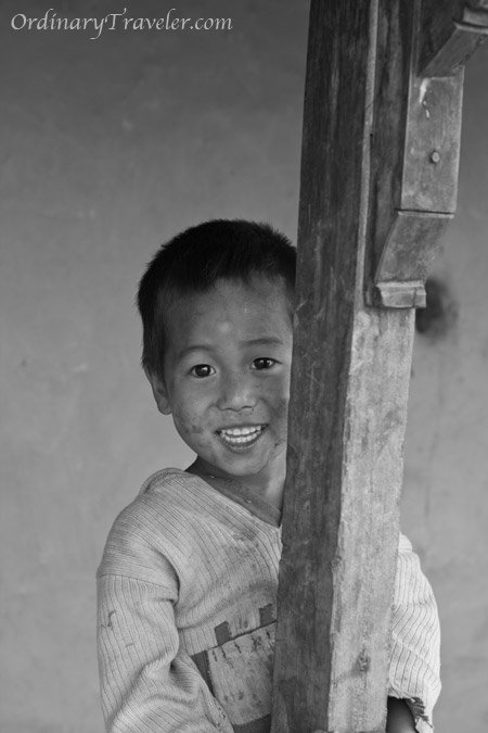 Dhading, Nepal - Little Boy