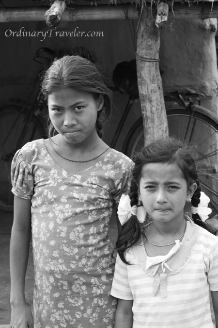 Chitwan, Nepal - Girls