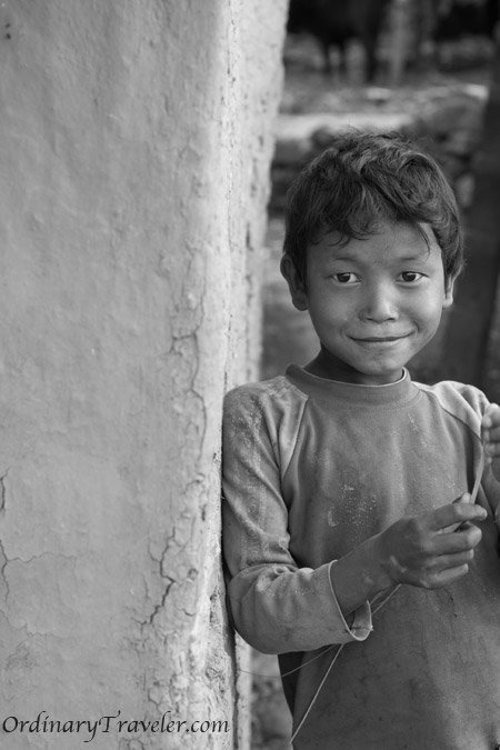 Dhading, Nepal - Young Boy
