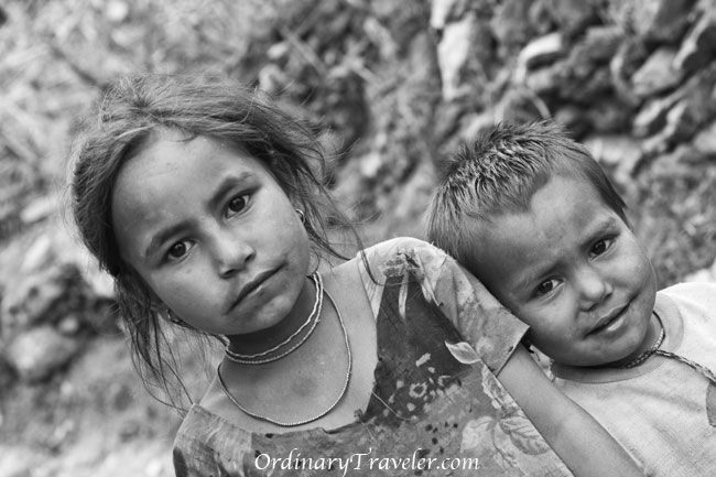 Dhading, Nepal - Children