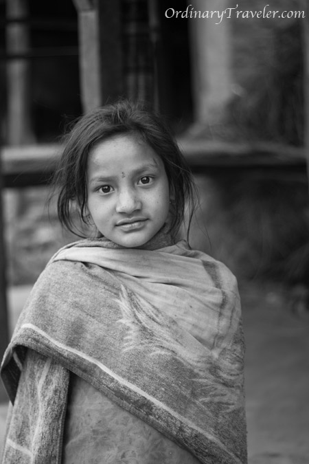 Dhading, Nepal - Young Girl