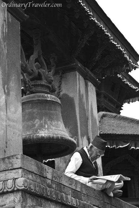 Bhaktapur Nepal - Temple Bell