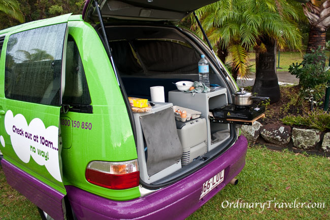 Campervan Camping in Australia