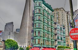 Columbus Tower Transamerica Pyramid