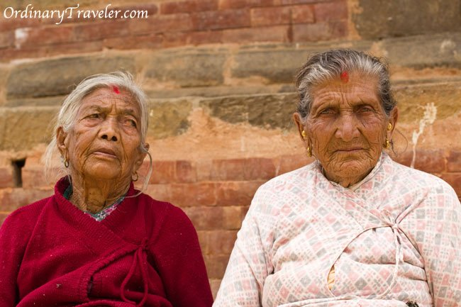 Two Women in Panaouti, Nepal